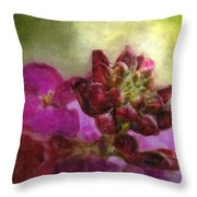 Soft Magenta Throw Pillow