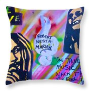 Soft Marley Throw Pillow