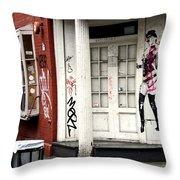 Soho Doorway Throw Pillow
