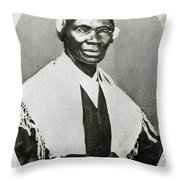 Sojourner Truth, African-american Throw Pillow