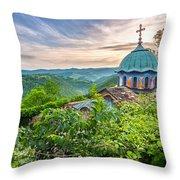 Sokolski Monastery Throw Pillow