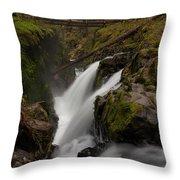 Sol Duc Flow Throw Pillow