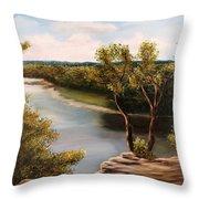 Solado Creek Throw Pillow