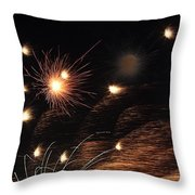 Solar Combustion Throw Pillow