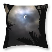 Solar Eclipse II Throw Pillow