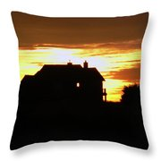 Solar Illumination  Throw Pillow