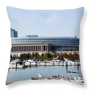 Soldier Field Chicago Throw Pillow