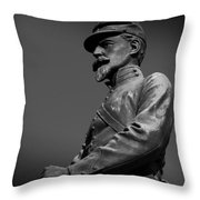 Soldier In Bronze  Throw Pillow