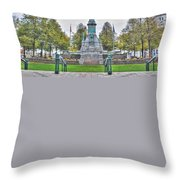 Soldiers And Sailors Monument In Lafayette Square Throw Pillow