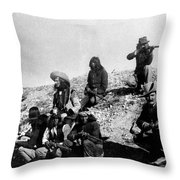Soldiers And Scouts Throw Pillow