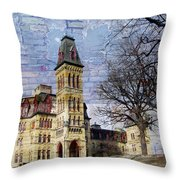 Soldiers Home And Brick Throw Pillow