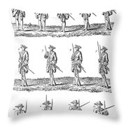 Soldiers: Infantry Drill Throw Pillow