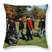 Soldiers March Color Throw Pillow