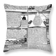 Solemn League And Covenant Throw Pillow