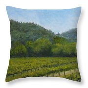 Solis Winery Throw Pillow