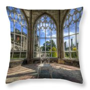 Solitary Conservatory Throw Pillow