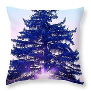 Solitary Trees Poster Throw Pillow