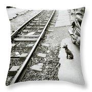 Solitude In Hanoi Throw Pillow