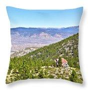 Solitude With A View - Carson City Nevada Throw Pillow