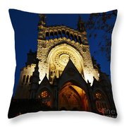 Soller Cathedral Throw Pillow