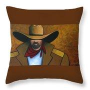 Solo Cowboy Throw Pillow