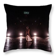 Solo Dance Performance Throw Pillow by Scott Sawyer