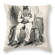 Solomon Northup (1808-?) Throw Pillow