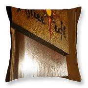 Solstice Cafe Throw Pillow