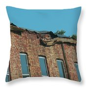 Some Repairs Needed Throw Pillow