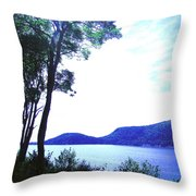 Some Sound Mt Desert Island Me Throw Pillow