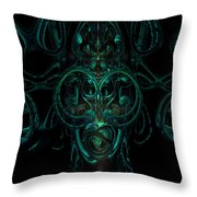 Something From Below Fx  Throw Pillow