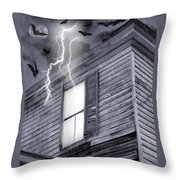Something Wicked Throw Pillow