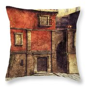 Somewhere In The South Throw Pillow