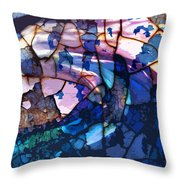 Songs And Colours  Throw Pillow