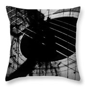 Songs To The Ear  Throw Pillow