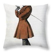 Soren Kierkegaard Throw Pillow