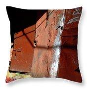 Souk In Marrakesh 06 Throw Pillow