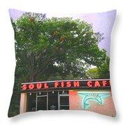 Soul Fish Throw Pillow