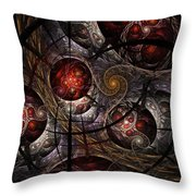 Soul Of Osiris Throw Pillow