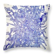 Sound Barrier Throw Pillow