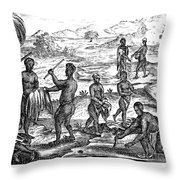 South Africa: Hottentot Throw Pillow