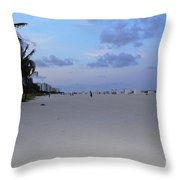 South Beach Throw Pillow