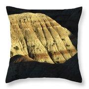 South Dakota Badlands Throw Pillow