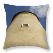 South East Tower Throw Pillow
