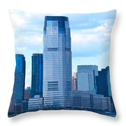 South Ferry Water Ride10 Throw Pillow