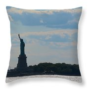 South Ferry Water Ride11 Throw Pillow