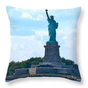 South Ferry Water Ride13 Throw Pillow