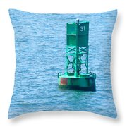 South Ferry Water Ride18 Throw Pillow
