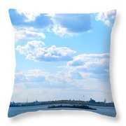 South Ferry Water Ride21 Throw Pillow