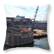 South Ferry Water Ride23 Throw Pillow